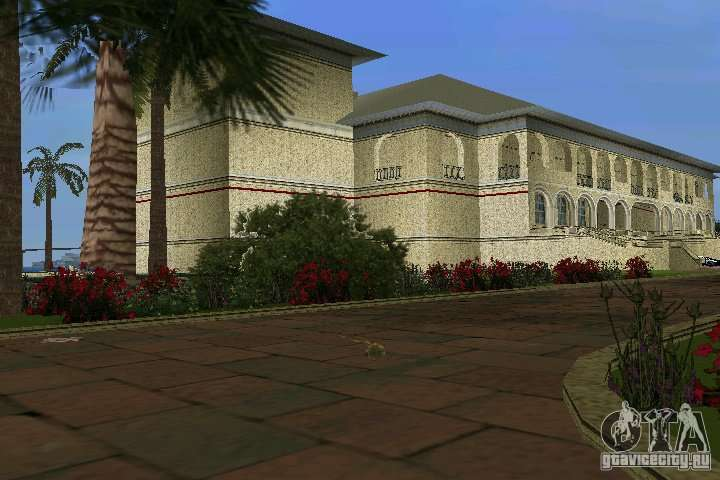 new mansion for gta vice city