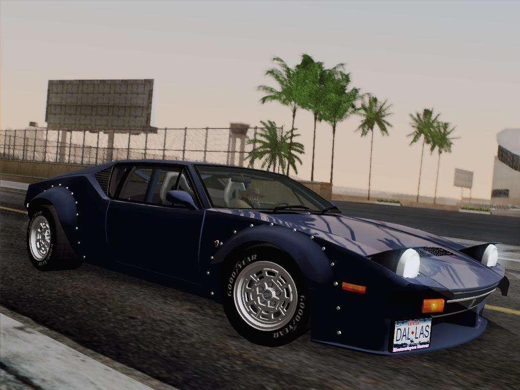 de tomaso pantera gt4 for gta san andreas. Black Bedroom Furniture Sets. Home Design Ideas