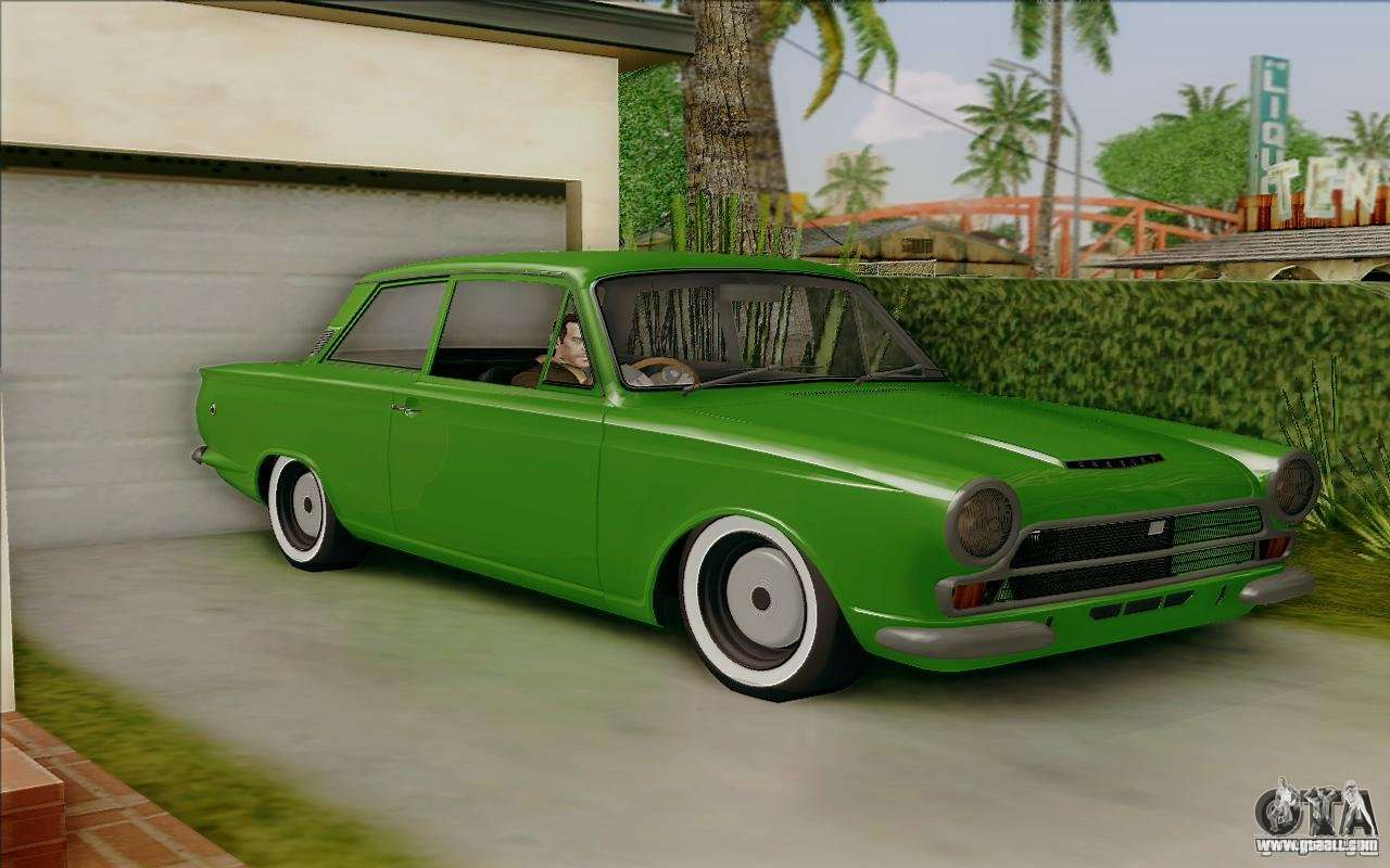 Lotus Cortina Mk1 For Gta San Andreas