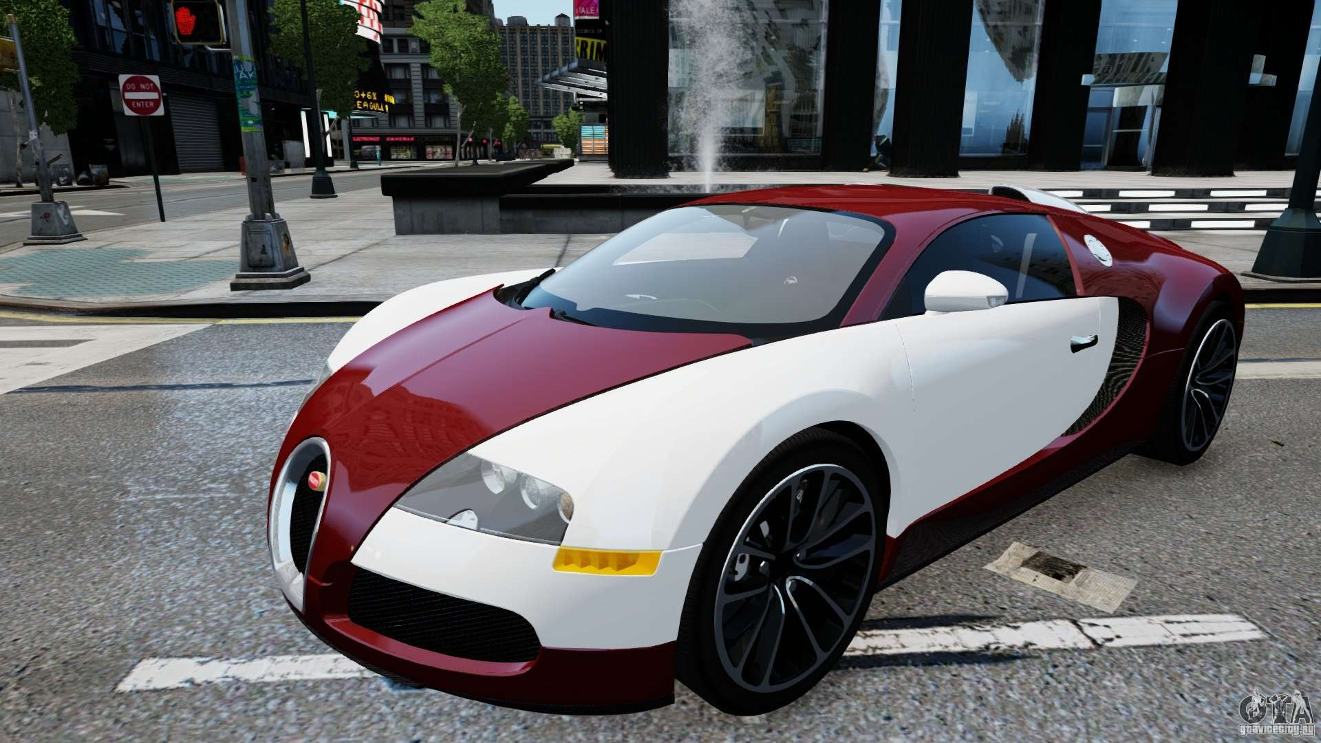 bugatti veyron 16 4 v1 0 wheel 1 for gta 4. Black Bedroom Furniture Sets. Home Design Ideas