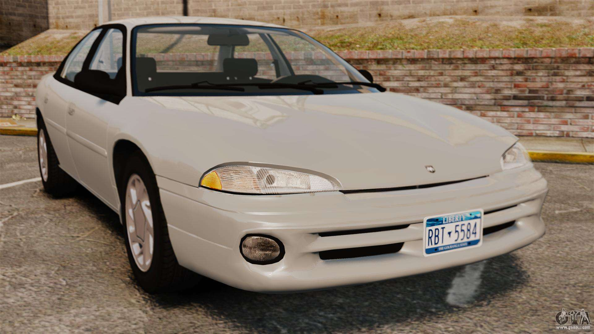 Dodge Intrepid 1993 Civil For Gta 4