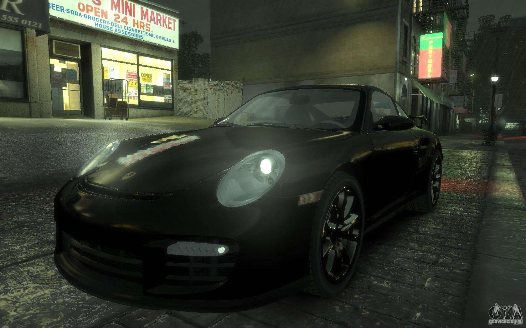 porsche 911 gt2 2008 for gta 4. Black Bedroom Furniture Sets. Home Design Ideas