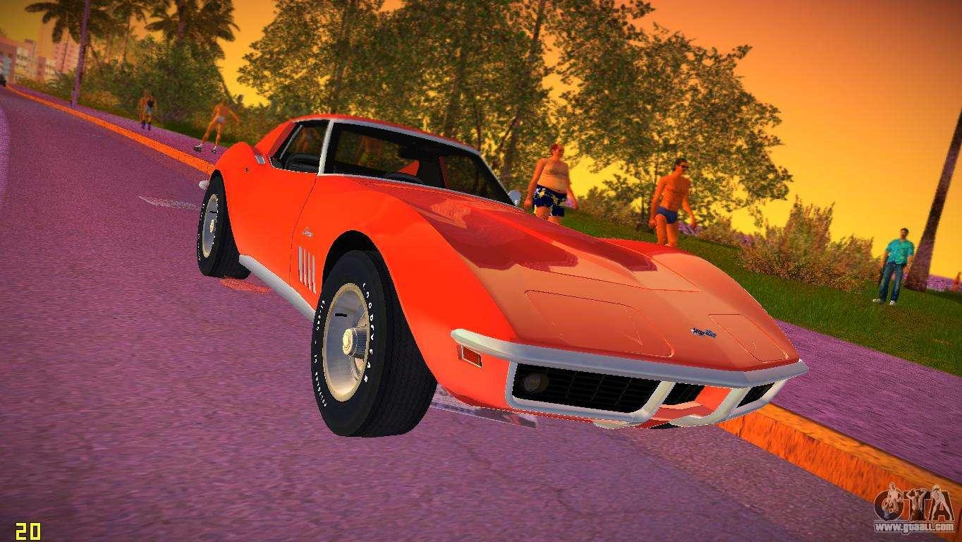 1969 Corvette Stingray >> Chevrolet Corvette (C3) Stingray T-Top 1969 for GTA Vice City
