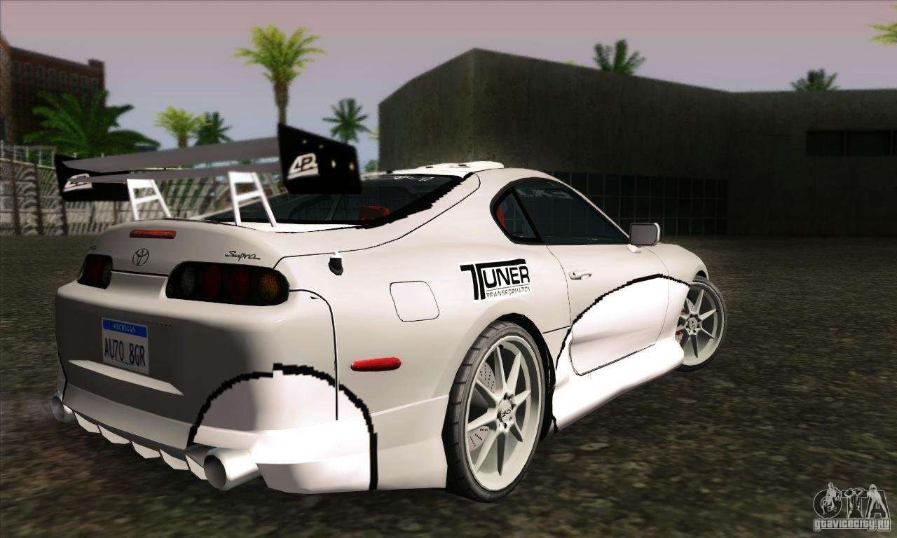 toyota supra tunable for gta san andreas. Black Bedroom Furniture Sets. Home Design Ideas