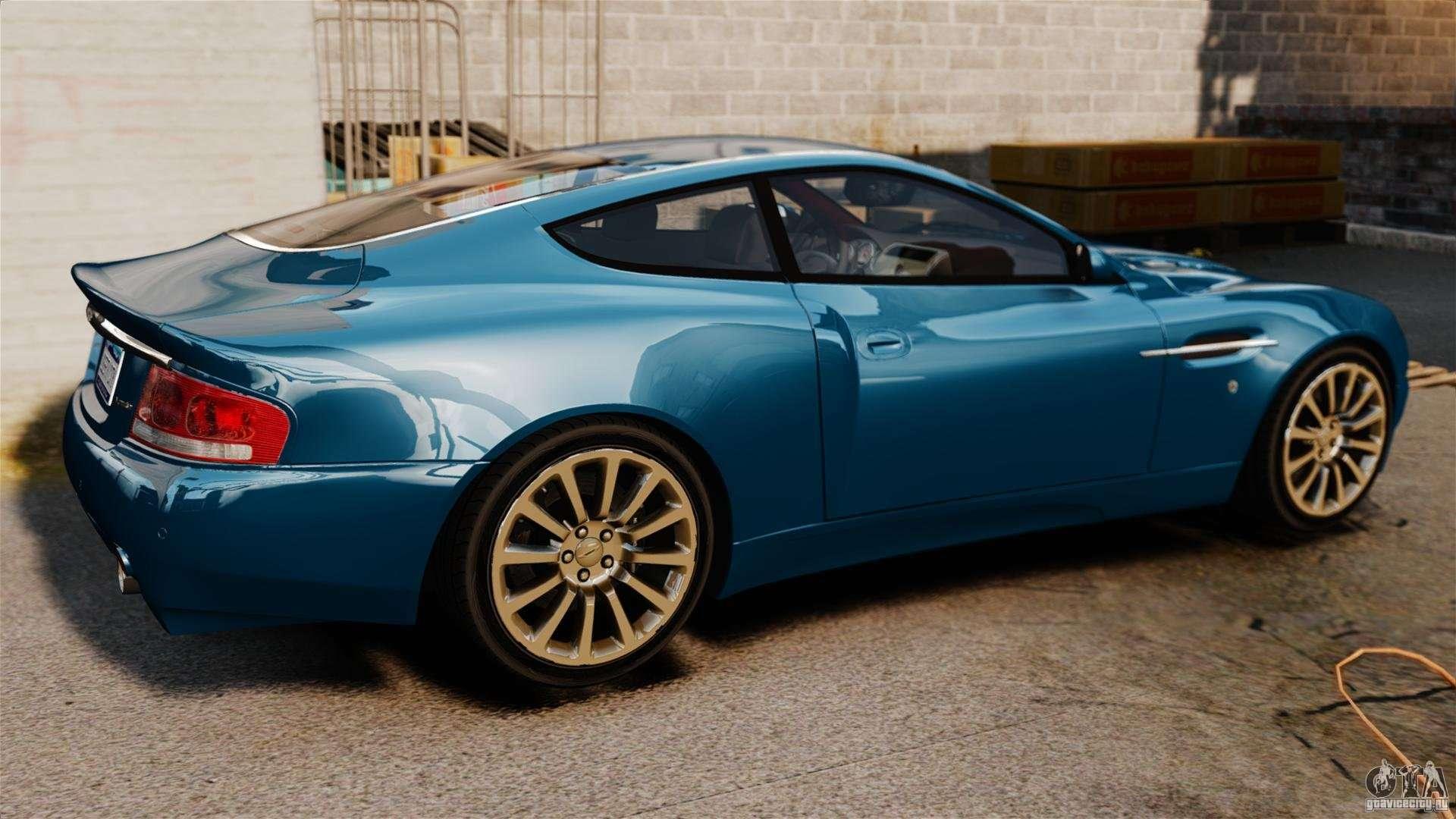 Aston Martin Vanquish 2001 for GTA 4