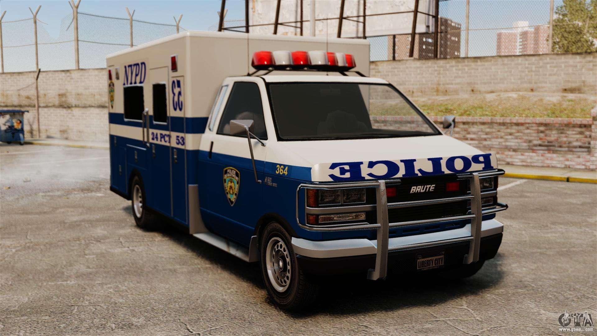 new van police for gta 4. Black Bedroom Furniture Sets. Home Design Ideas
