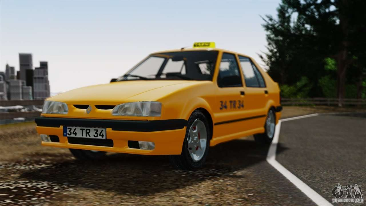 renault 19 taxi for gta 4. Black Bedroom Furniture Sets. Home Design Ideas