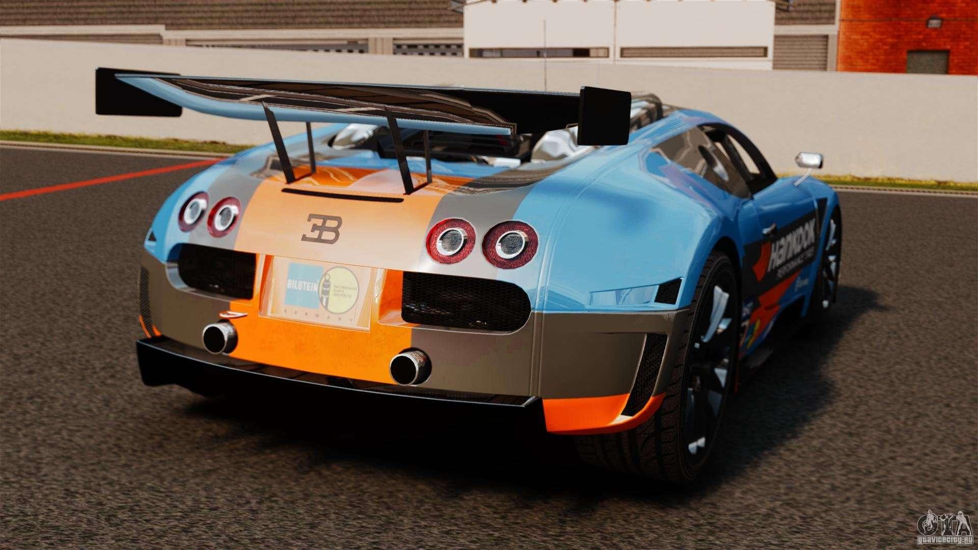 Bugatti Veyron 16 4 Body Kit Final For Gta 4