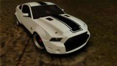 Ford Shelby GT500 SuperSnake NFS The Run Edition for GTA San Andreas