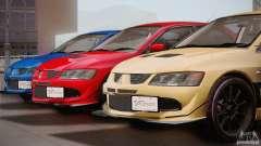 Mitsubishi Lancer Evolution VIII MR Edition