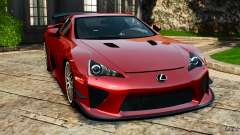 Lexus LFA 2012 Nurburgring Edition for GTA 4