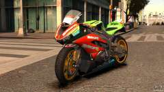 Kawasaki Ninja ZX-6R for GTA 4