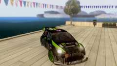 Ford Fiesta Gymkhana 3 for GTA San Andreas