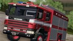 Scania 94D-260 Corpo Bombeiros SP for GTA San Andreas