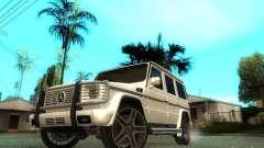 Mercedes-Benz G500 silver for GTA San Andreas