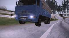 KAMAZ 65117 for GTA San Andreas