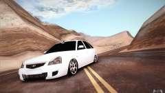 VAZ 2172 white for GTA San Andreas