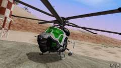 AH-2 Сrysis 50 C.E.L.L. Helicopter for GTA San Andreas