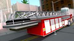 Trailer for Seagrave Tiller Truck