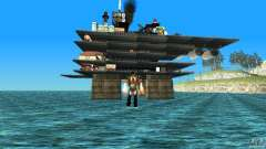 Oil platform in Los Santos for GTA San Andreas