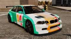 BMW M3 GTR MW 2012 for GTA 4