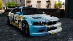 BMW M3 GTR MW 2012 for GTA 4