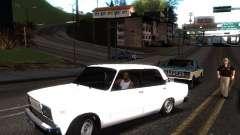 VAZ 2107 DAG for GTA San Andreas