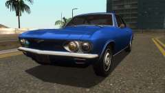 Chevrolet Corvair Monza 1969 for GTA San Andreas