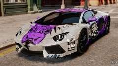 Lamborghini Aventador LP700-4 2012 Galag Gumball for GTA 4