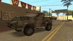 GAS-3937 Vodnik for GTA San Andreas