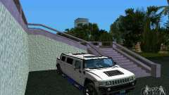 Hummer H2 SUT Limousine for GTA Vice City