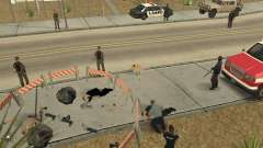 Scene of the crime (Crime scene) for GTA San Andreas