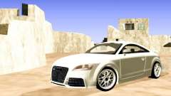 Audi TT RS white for GTA San Andreas