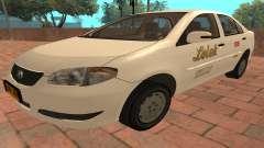 Toyota Corolla - LOLEK TAXI for GTA San Andreas