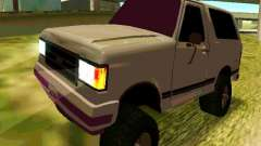 Ford Bronco 1990 for GTA San Andreas