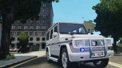 Mercedes-Benz G500 Beredskapstroppen for GTA 4