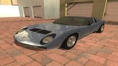 Lamborghini Miura P400 SV 1971 V1.0 for GTA San Andreas