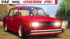 VAZ 2105 Cherry Pie for GTA San Andreas
