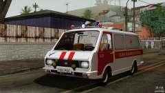 RAF 22031 Latvija ambulance