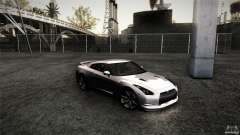 Nissan GT-R35 v1 for GTA San Andreas