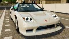 Honda NSX-R GT for GTA 4