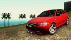 Audi A3 Tunable for GTA San Andreas