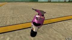 Piaggio ZIP for GTA San Andreas