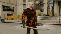 Sword of the Witcher v2 for GTA 4