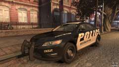 Ford Taurus Police Interceptor 2010 ELS for GTA 4