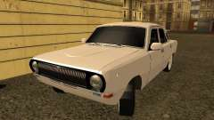 GAZ 24-10 Volga white for GTA San Andreas