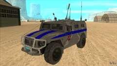 GAS-23034 SPM-1 Tiger for GTA San Andreas