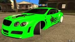 Bentley Continental GT for GTA San Andreas