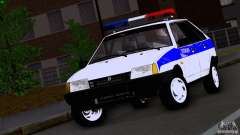 Vaz 2109 Police for GTA San Andreas