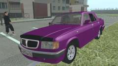 GAZ 3110 Volga silver for GTA San Andreas